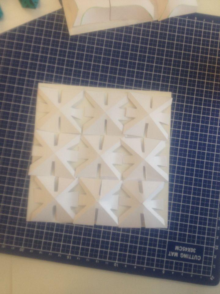 Open vormen patroon