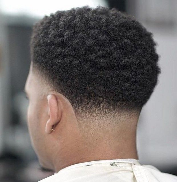 Afro Taper Fade Men's Haircut   Trend Haircuts