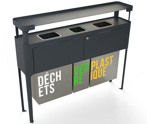 les 25 meilleures id es de la cat gorie tri selectif sur pinterest le tri selectif poubelle. Black Bedroom Furniture Sets. Home Design Ideas
