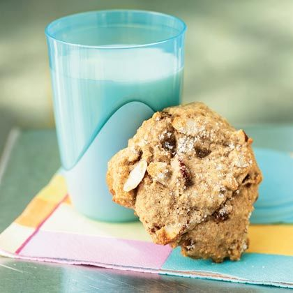 These oversized cookies are more like muffin tops, but calling them cookies makes them seem a bit more indulgent. They're chock-full of...