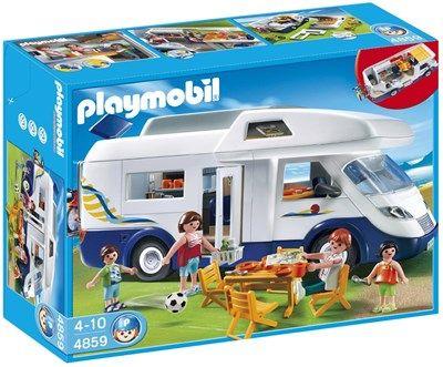 Grand camping-car familial de Playmobil Réf : 4859 moins cher en ligne. Age : 4 ans  Comparez son prix chez 6 vendeurs en ligne .
