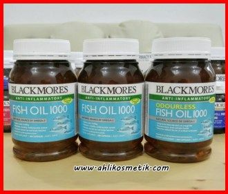 Blackmores Fish Oil Mengandung DHA yang mampu mencerdaskan otak anak dalam masa pertumbuhan