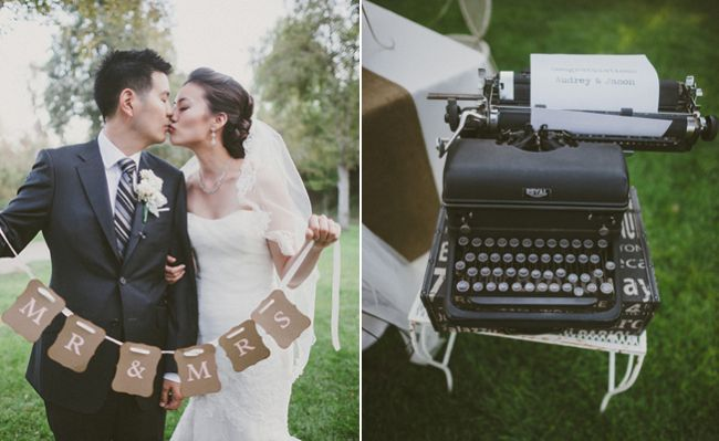 A Vintage Outdoor Wedding by Per PixelPhotography