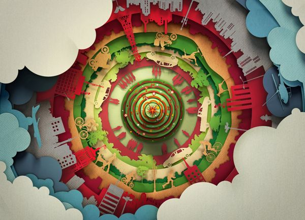 Santander Xmas Promo by Big Studios , via Behance