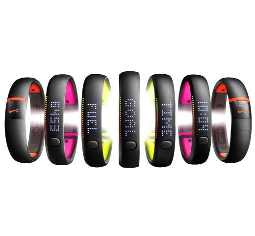 Nike FuelBand - прекрасный фитнесс-браслет яркой расцветки с ЖК дисплеем. Всегда доступен на texnikapro.ru