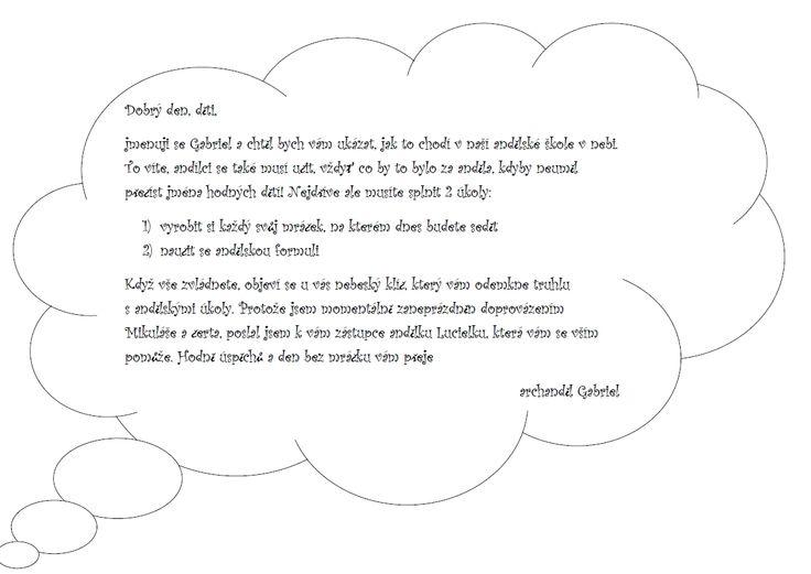 Dopis pro děti