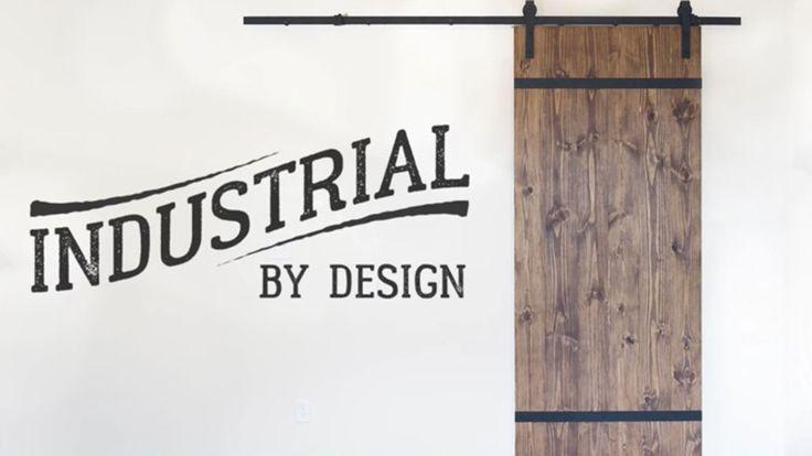 DIY: Bygg en utanpåliggande skjutdörr i industristil