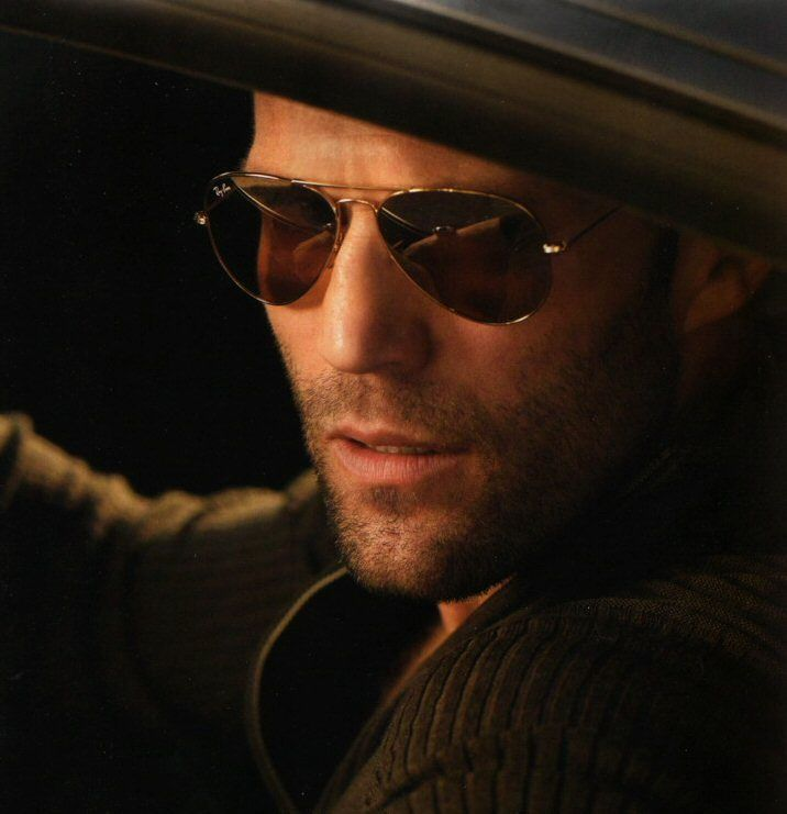 Actor Jason Statham. No words are needed. ;)