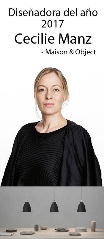 Cecilie Manz es nombrada la diseñadora del año por Maison & Objet! Conoce su lámpara más popular - La Caravaggio!  #Nordika #Iluminación #Lamparas #diseño #Nordico