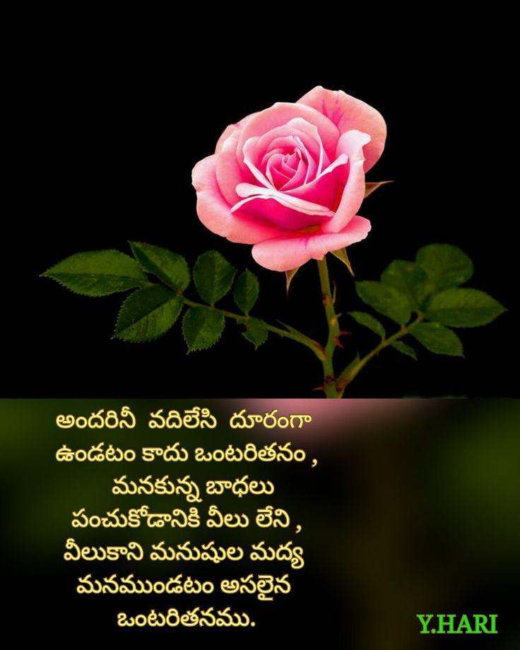 Best 47 Telugu Quotes Images On Pinterest