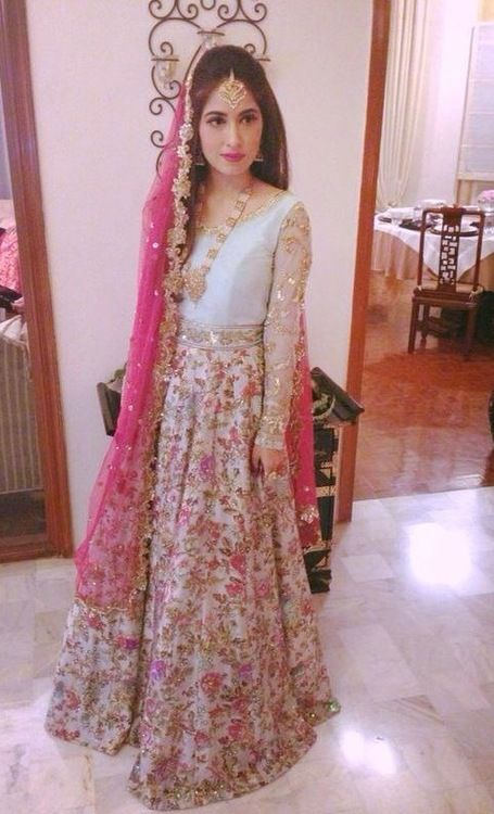 Brilliant summery zara shahjehan bridal