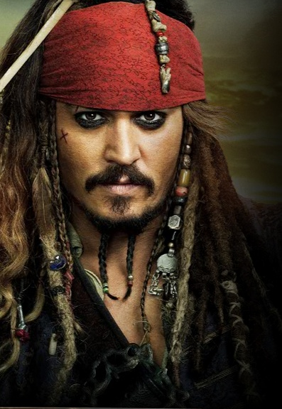 Captain Jack Sparrow- Johnny Depp- Beautiful