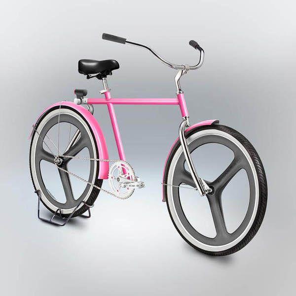 Велосипеды из каракули. Чувак взял рисунки своих друзей и превратил их в 3D модели. велосипед, рисунок, 3D рисунок, 3d модель, длиннопост