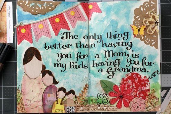 Mother's Day gift idea. #mothersday #crafting #diy www2.fiskars.com
