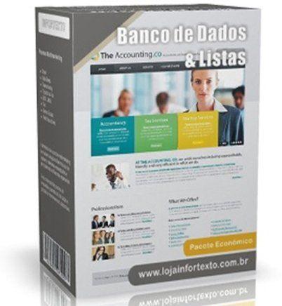 Lista 2017 Empresas . Escritórios . Consultórios . Profissionais . Escolas . Comércio . Brasil | Lista de Emails