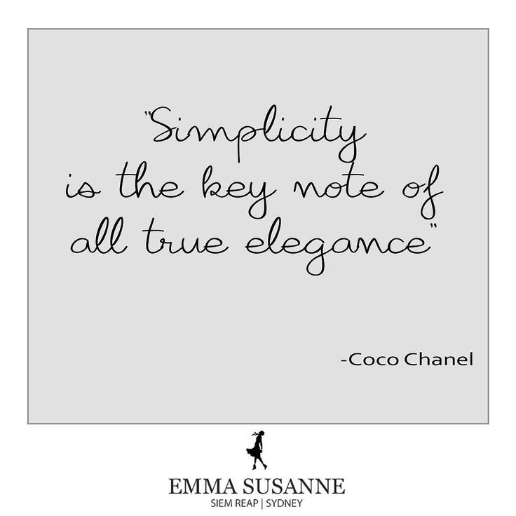 We are all about a simple accessory done very well. #ES