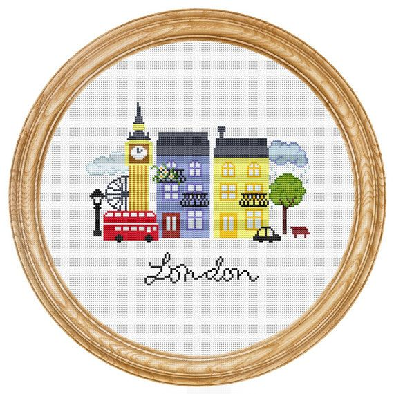 Cross Stitch - London