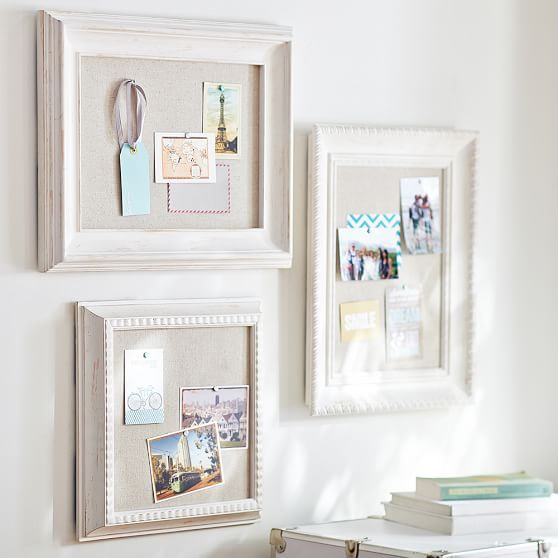 Wooden Eclectic Framed Pinboards   PBteen