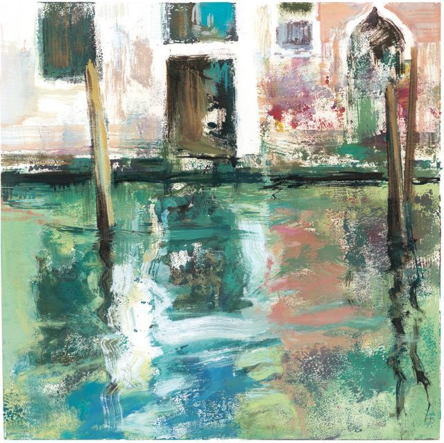 """""""Canal de San Lorenzo""""33x33cm.M.Teresa Martin-Vivaldi"""