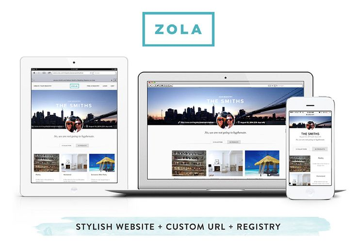 Creating your registry is, hands-down, one of the most fabulous parts about planning your big day. And to make the process even more exciting, let me introduce you to Zola! This online wedding registry totally reinvents the gift giving process for engaged couples by allowing them to register for products, experiences, cash funds and more!…