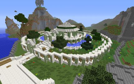 Garden of eden minecraft building pinterest gardens for Garden designs minecraft