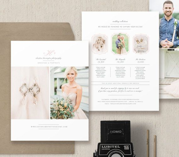 Price List for Wedding Photographers by designbybittersweet