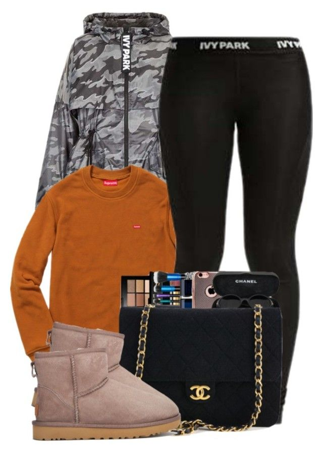 """""""Warm"""" by ashcake-wilson ❤ liked on Polyvore featuring Topshop, Ivy Park and UGG"""