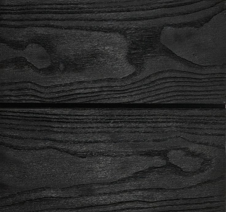 Etched Charcoal   This process involves using the Burnt Ash timber, wire brushing it and then applying Intergrain Natural Stain. Instructions provided by Intergrain are to be followed when applying the product.  We offer the service of wire brushing and finishing so the product can be installed straightaway. To maintain this look, we suggest re-coating every 12-18 months