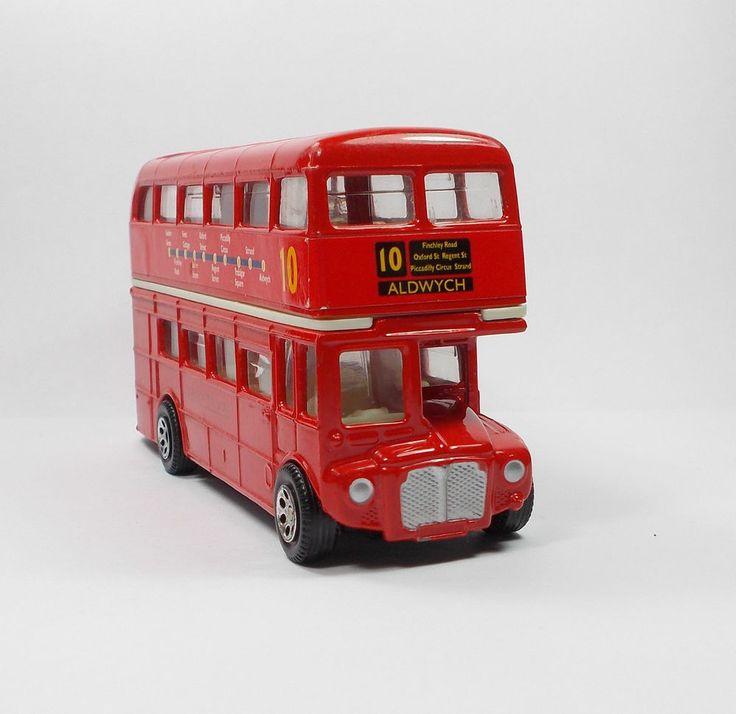 London Bus - No.10 - Routemaster - Die-Cast Toy Model - Corgi