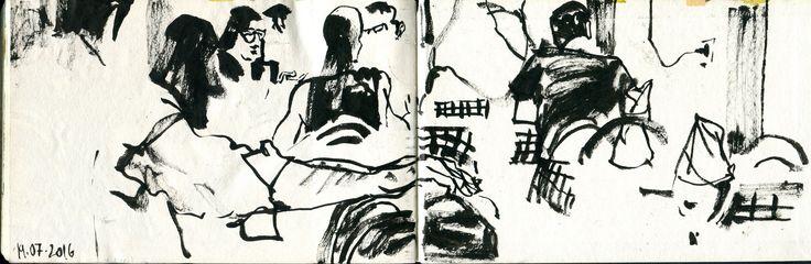 https://flic.kr/p/JmSgj5 | caro diario | last page (spread) of this sketchbook