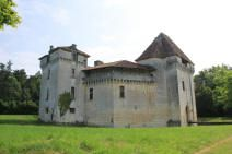 château de Caussade.Trélissac. Aquitaine