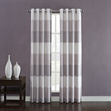 kas ribbon window curtain grommet panels bed bath and for