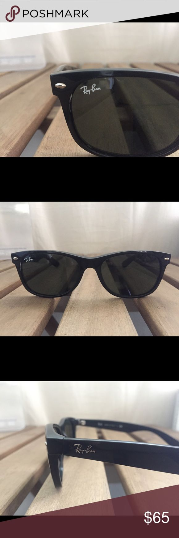 Ray Ban Wayfarer 2132 Authentic RB 2132 no scratches no case polarized. Retails for $140 Ray-Ban Accessories Sunglasses