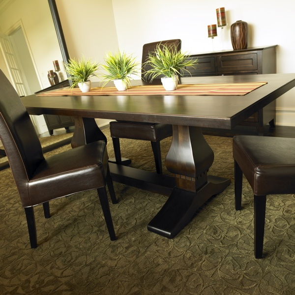 Modern Country Furniture - Dining Trestle Table