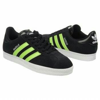 adidas Gazelle 2 Suede Shoes (Black/Slime/White) - Men\u0027s Shoes - M