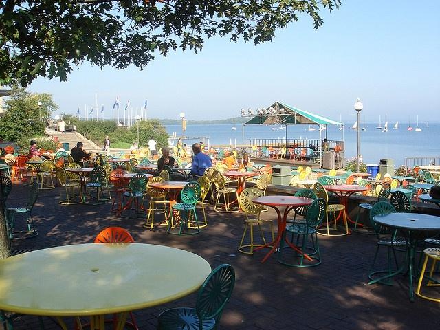 the Terrace- Lake Mendota