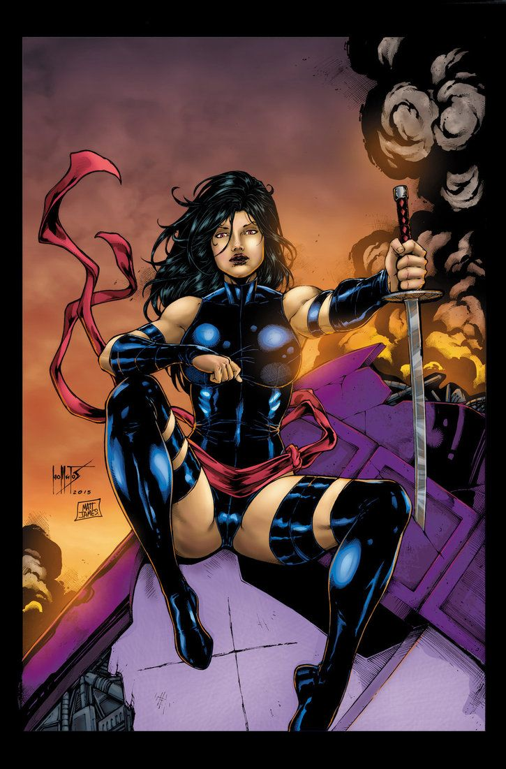 Marvel Psylocke Art 10+ images about Psylo...