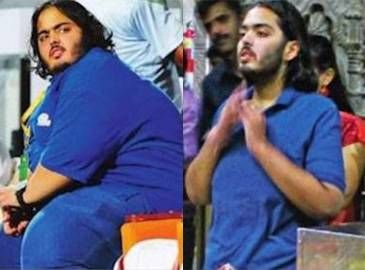 Anant Ambani, son of billionaire Mukesh Ambani, has reportedly shed close to 70 kgs - almost half of what he weighed a few months back.