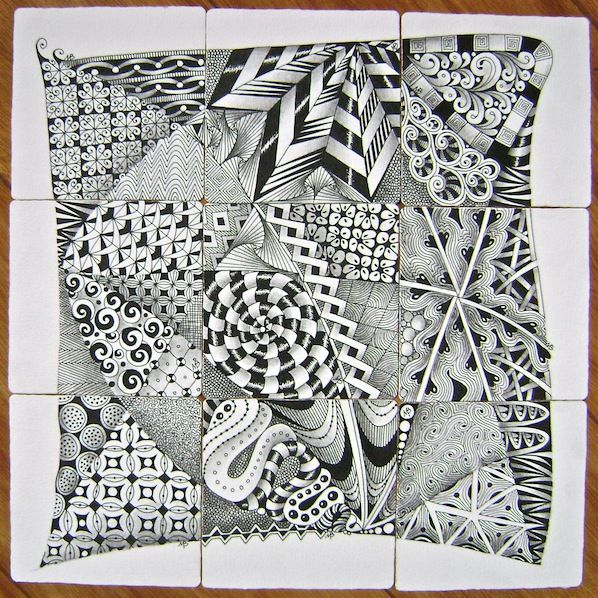 "Ensemble sets (9 tiles, done ""without peeking"")"