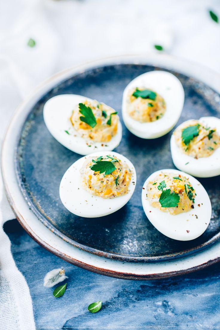 Jajka faszerowane pieczarkami | Ania Starmach  Smaczne połączenie na Wielkanoc, którego musisz spróbować!