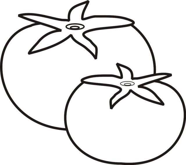 coloring pages tomatoes - photo#32