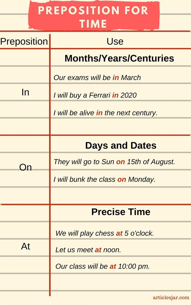 preposition list grammar englishclub - 736×1174