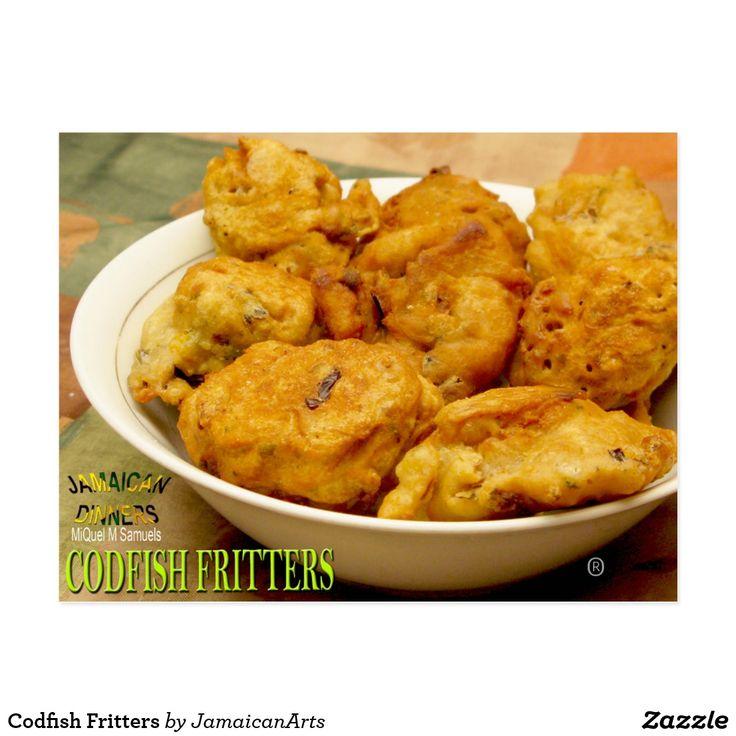 Codfish Fritters