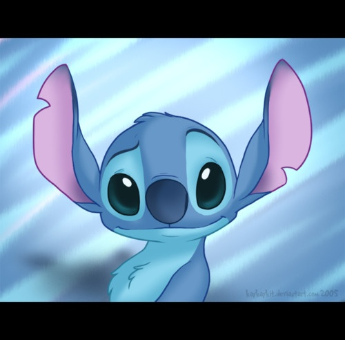 Stitch fan art, how cute! | Stitch | Pinterest