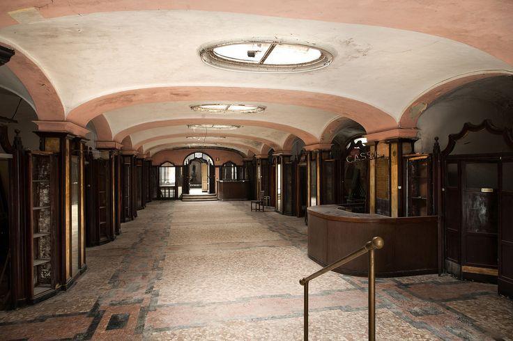 """""""L'Albergo Diurno Metropolitano"""", which literally translates to the Daytime Metropolitan Hotel. Milan"""