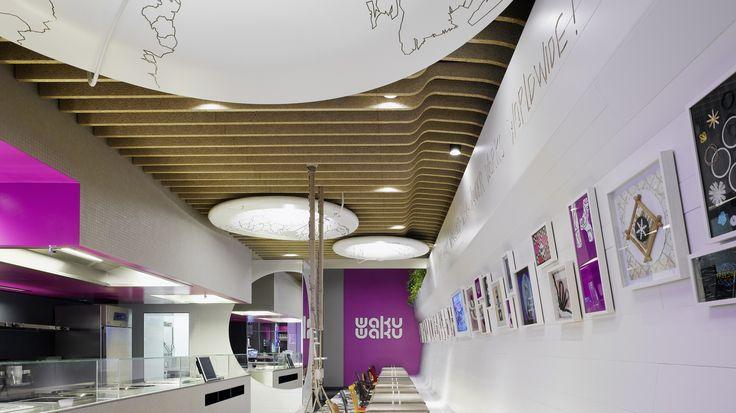 Interesting Ceiling Baffles Design Pinterest