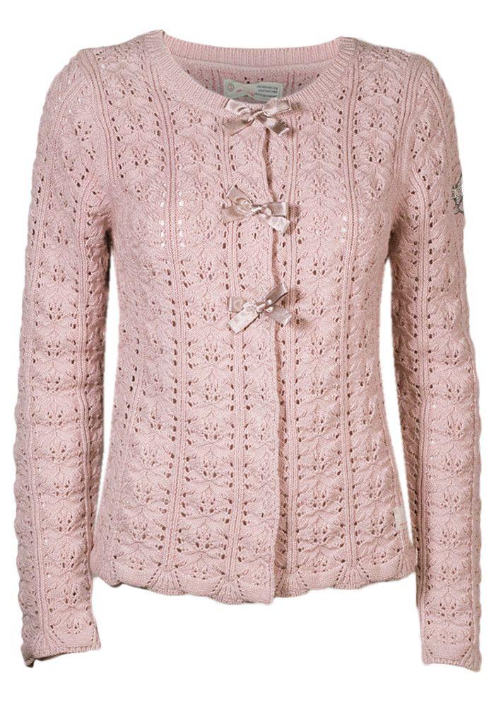 Odd Molly Cardigan - Stunning Cardigan 716M-530 milky pink – Acorns