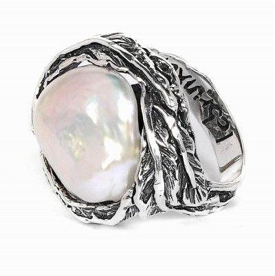 Afbeeldingsresultaat voor ringen met barok parels