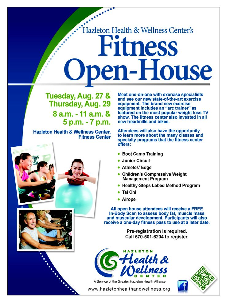 HHWC Fitness Center Open House GHHA News and Events
