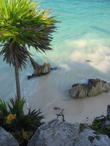 Praia de Tulum, México